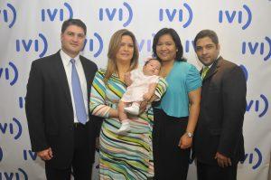 Virginia Murgas, es la primera mujer panameña que consigue dar a luz un bebé, con la aplicación de esta técnica.