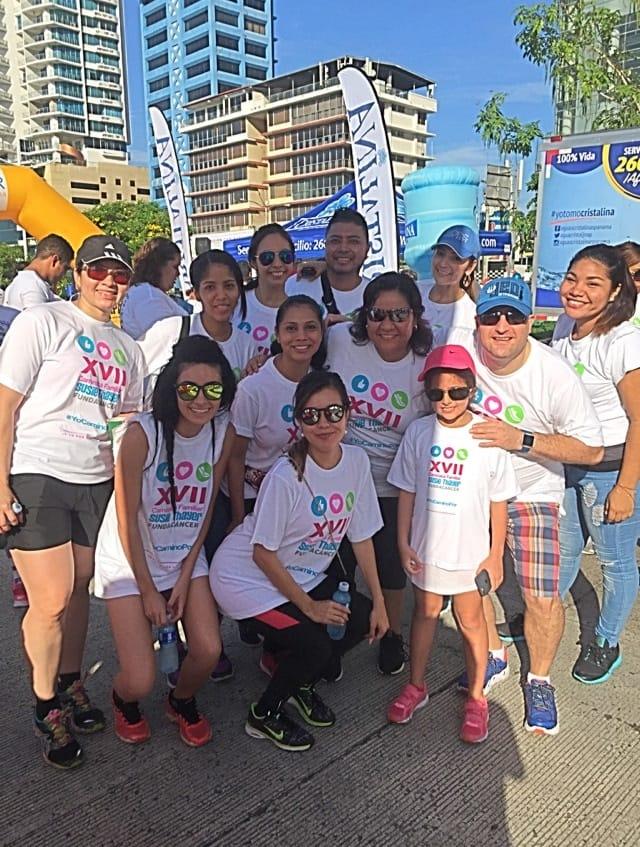 IVI Panamá participa en la XVII caminata familiar Susie Thayer
