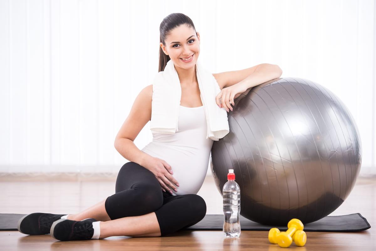 Ejercicios durante el embarazo mientras estás en cuarentena
